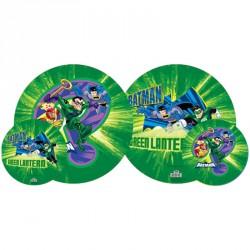 Gumilabda Batman Zöld Lámpás 23 cm Sportszer Mese labda