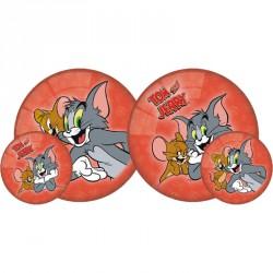 Gumilabda Tom és Jerry 23 cm piros Sportszer Mese labda