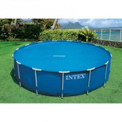 Szolár medence takaró Intex 305 cm Medence védőtakaró Intex