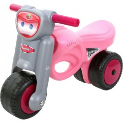 Lábbal hajtható kismotor rózsaszín Lábbal hajtható járművek Polesie