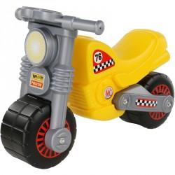Lábbal hajtható kismotor sárga Lábbal hajtható járművek Polesie