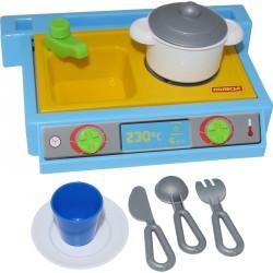 Kis játékkonyha készlet 7 darabos Játék Polesie