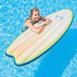 Felfújható szörfdeszka Intex fehér-zöld Sportszer Intex