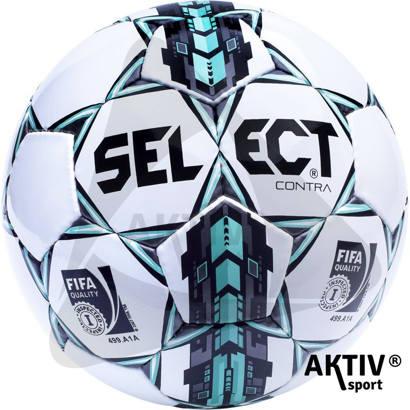 Focilabda Select Contra fehér-kék - Futball labda  70c142bdda