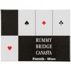 Bécsi standard 2 x 55 lapos römikártya Piatnik Kártya játékok Piatnik