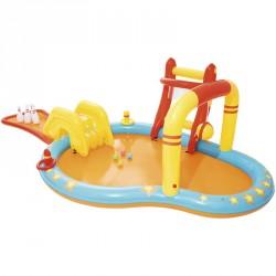 Gyermek játszómedence Bestway bowling csúszdával Gyermek medence Bestway