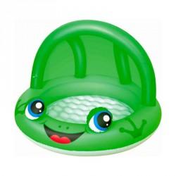 Baby naptetős pancsoló Bestway zöld Gyermek medence Bestway