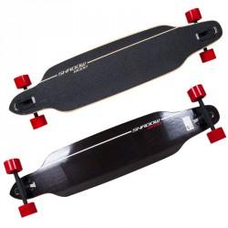 Longboard gördeszka Shadow Wood 42 Sportszer Spartan