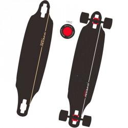 Longboard gördeszka Shadow Fibre 40 Sportszer Spartan