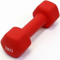 Szépséghibás Aktivsport súlyzó 3 kg neoprén Sportszer Aktivsport